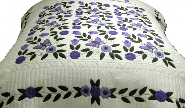 Purple Amish Quilt